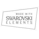 Royal Swarovski Crystal Collar - Brown/Champagne