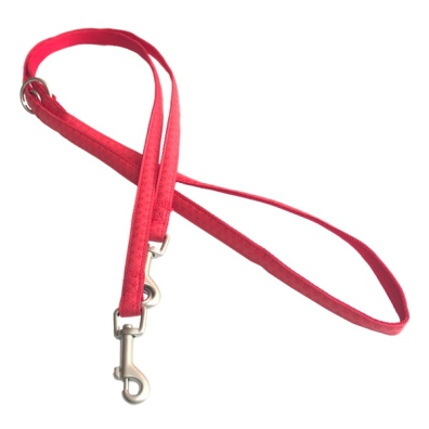 SOFT LEASH ADJUSTABLE RED