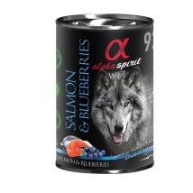 Alpha Spirit Salmon   Blueberries 400g