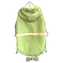 Lime raincoat