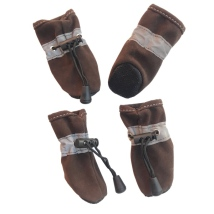 Indoor Booties - Brown