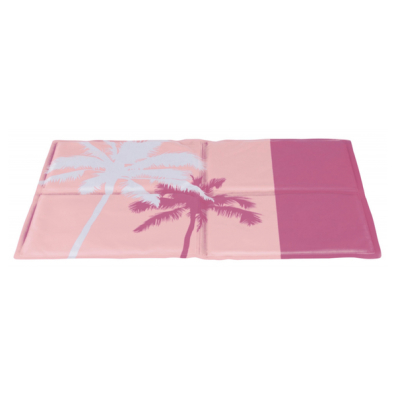 Cooling Mat Through Body Contact - Pink/Palm Trees
