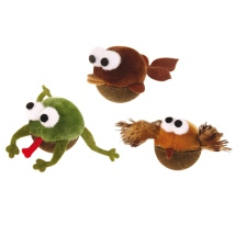 Cat Toys w Catnip - Random Bird/Frog/Fish