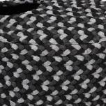 Oval Pet Basket - Grey/Black 48x42x22cm