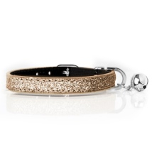 Cat Collar Stardust - Gold