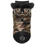 Arthis Padded Coat w Detachable Hood - Camo