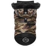 Arthis XL-Wide Padded Coat w Detachable Hood - Camo