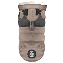 Blitzen Coat w Hood and Harness Hole - Camel