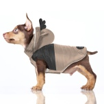 Blitzen Coat w Hood and Harness Hole - Camel