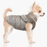 Angele Wing Coat w Harness Hole - Taupe
