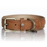 Hogan Vegan leather Collar - Camel