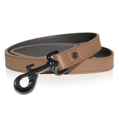 Dandy Real Leather Leash - Camel