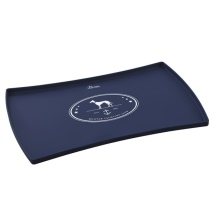 Soft Silicon Placemat - Navy Blue