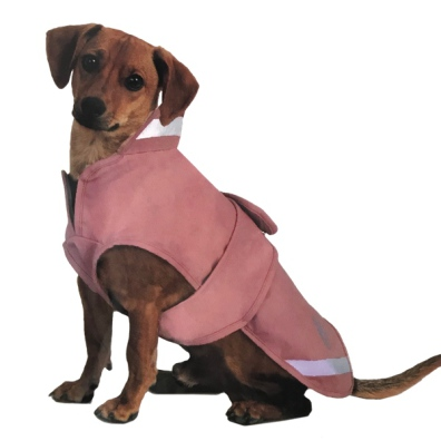 Penny Rainproof Winter Coat with Fleece Lining - Pink