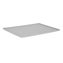 Silicone Placemat Small Relief Patterns - Grey