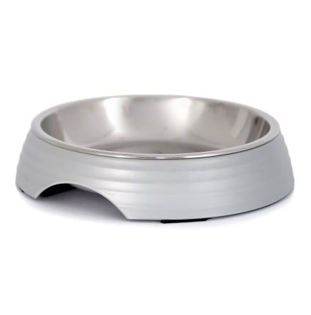 Low Food Bowl Amy - Grey