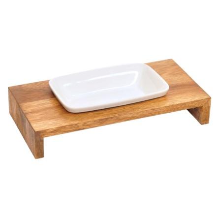 Maebashi Bowl Wooden Table - Teak 1x0,25L