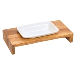 Maebashi Bowl Wooden Table - Teak 1x0,25L