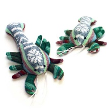 Handmade Valerian Cat Toy Lobster - Various Colors