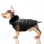Coat Marlon with Fur Collar