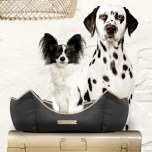Sofa HUG ME Hexagonal Detachable Cover - Antracita/Gold