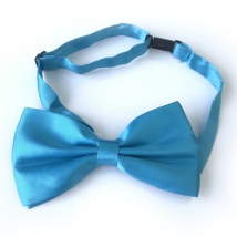 Big Bow Slidable & Adjust Strap - Turqoise Aprox 25-46cm 13x7cm