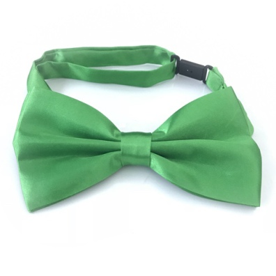 Big Bow Slidable & Adjust Strap - Dark Green Aprox 25-46cm 13x7cm