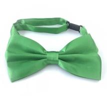 Big Bow Slidable & Adjust Strap - Dark Green Aprox 25-46cm 13x7cm