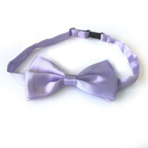Big Bow Slidable & Adjust Strap - Light Purple Aprox 25-46cm 13x7cm