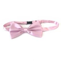 Big Bow Slidable & Adjust Strap - Light Pink Aprox 25-46cm 13x7cm