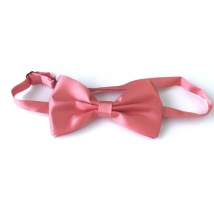 Big Bow Slidable & Adjust Strap - Coral Aprox 25-46cm 13x7cm
