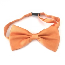 Big Bow Slidable & Adjust Strap - Orange Aprox 25-46cm 13x7cm