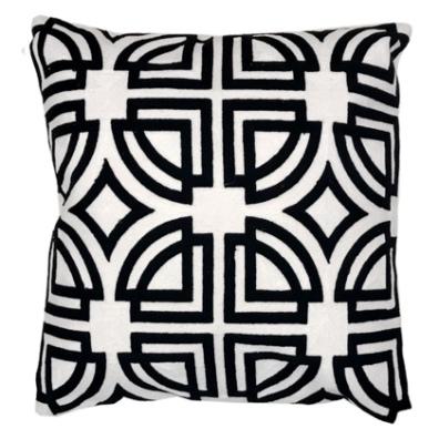 Menton Cushion - Black/White 45X45cm