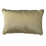 Vence Velvet Cushion - Gold 55x35cm