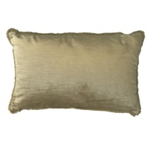Vence Velvet Cushion - Gold 55x35cm