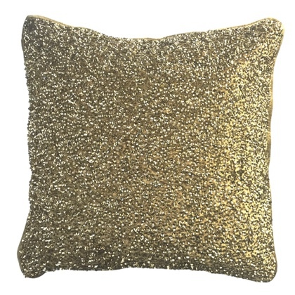 Imperial Cushion with Sequins and Velvet Back Side 45x45cm