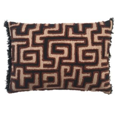 Malindi Cushion - Black/Beige/Brown 50x35cm