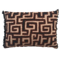 Malindi Cushion - Black/Beige/Brown 50x35cm
