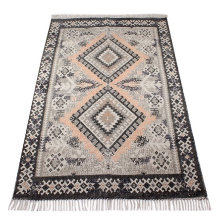 Carpet Zagor - Grey/Peach 180x120 cm