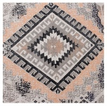 Carpet Zagor - Grey/Peach 180x120 cm