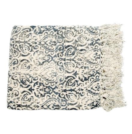Plaid Soft Faded - Blue/White 170x130cm