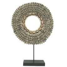 Ring of Shells on Stand - Grey