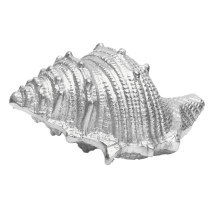 Seashell Deco Raw Nickel Plated Alu 23x15x12cm 700gr