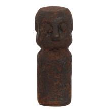 Rusty Ceramic Statue  23X10cm