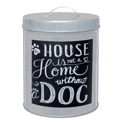Tin Jar House & Dog