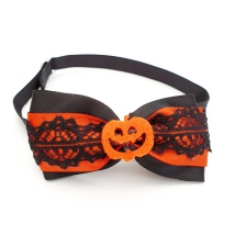 Halloween Bow Style 1 - Mixed Colors Size: aprox 7,5x4cm L:21-36cm