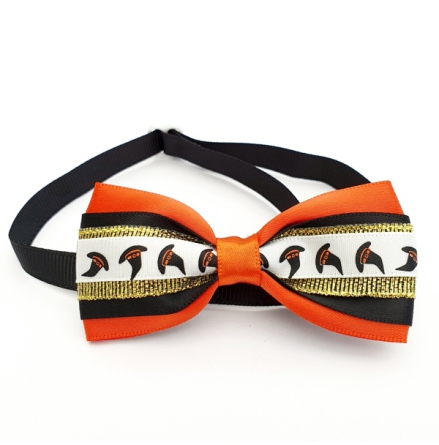 Halloween Bow Style 3 - Mixed Colors Size: aprox 7,5x4cm L:21-36cm