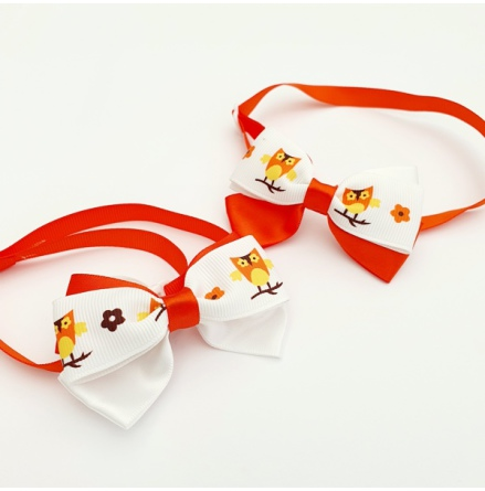 Halloween Bow Style 5 - Mixed Colors Size: aprox 7,5x5cm L:21-36cm