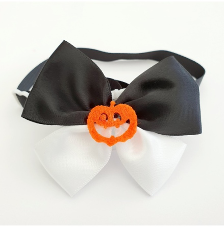 Halloween Bow Style 9 - Mixed Colors Size: aprox 7,5x5cm L:21-36cm