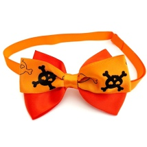 Halloween Bow Style 16 - Mixed Colors Size: aprox 7,5x5cm L:21-36cm